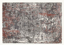VINTAGE-TEPPICH 160/230 cm Hellrot