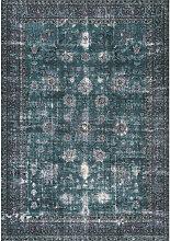 VINTAGE-TEPPICH 190/290 cm Blau