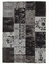 VINTAGE-TEPPICH 200/250 cm Grau