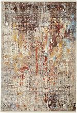 VINTAGE-TEPPICH 200/285 cm Grau, Multicolor