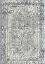 VINTAGE-TEPPICH 200/290 cm Grau, Schwarz