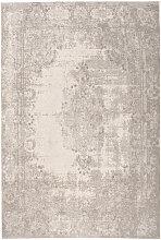 VINTAGE-TEPPICH 200/290 cm Silberfarben