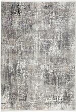 VINTAGE-TEPPICH 240/340 cm Grau, Schwarz
