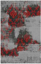 VINTAGE-TEPPICH 250/350 cm Grau, Rot