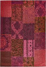 VINTAGE-TEPPICH 80/150 cm Lila
