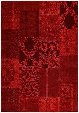 VINTAGE-TEPPICH 80/150 cm Rot