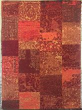VINTAGE-TEPPICH 80/250 cm Orange, Rot
