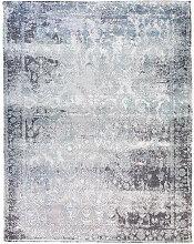 VINTAGE-TEPPICH  Blau, Grau