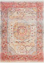 Vintage Teppich Flachflor Multi Orientalisch