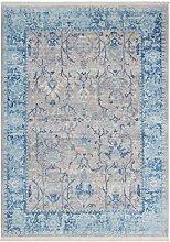 Vintage Teppich Mit Fransen Shabby Teppiche Modern
