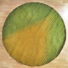 Vintage Teppich mit Opticon Muster