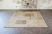 Vintage Teppich verschiedene Farben Größe 160 x