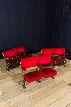 Vintage Theater 2-Sitzer Bank