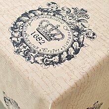 Vintage tischdecke,Amerikanische krone Stoff