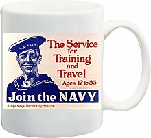 Vintage US Navy The Service for Training and