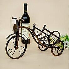 Vintage Verdrehen Line rot Wein Rack Küche Halter