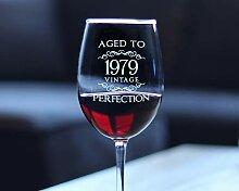 Vintage Vintage Vintage Weinglas mit Stiel, Glas