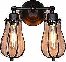 Vintage Wandlampe American Craft Schmiedeeisernen