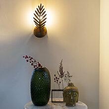 Vintage Wandlampe Gold - Botanica