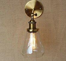Vintage Wandlampe im Landhausstil Retro LED