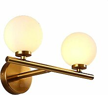 Vintage Wandlampe Industrielle Runde