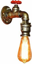 Vintage Wandlampe LED Innen Retro Industriell