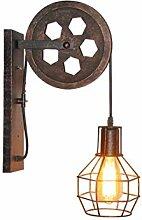 Vintage Wandlampe Wandleuchte Flurlampe mit