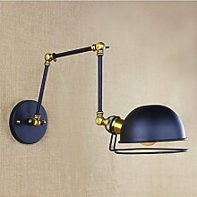 Vintage Wandleuchte Industrie Wandlampe E27