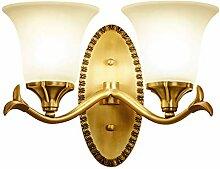Vintage Wandleuchte Klassisch Messing Wandlampe