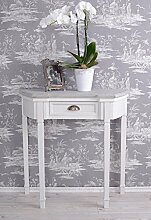 Vintage Wandtisch Tischkonsole Antik Wandkonsole Shabby Chic Konsole