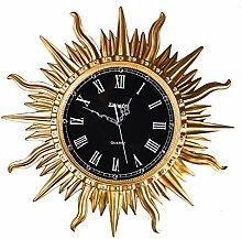 Vintage Wanduhr/runde Sonnenuhr/römische