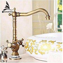 Vintage Wasserhahn Platingrotationantique Bronze