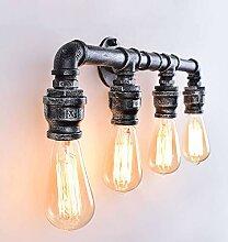 Vintage Wasserpfeife Licht Wandlampe Retro