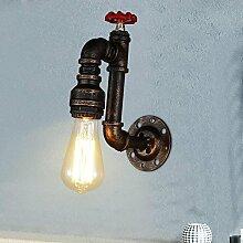 Vintage Wasserrohr Wandleuchte Wandlampe Industrie