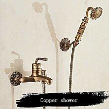 Vinteen Antikes Kupfer Klassische Bad Dusche