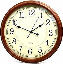 Vinteen Uhr Wohnzimmer Stille Wanduhr Massivholz