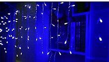 Vinteky® 300er Mini LED Lichterkette für Weihnachten Blumendekor Hochzeit Zimmer Dekoration Beleuchtung (Blau)