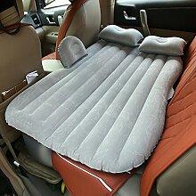 Vinteky® Auto Air Bed komfortables Reisen aufblasbares Auto Rücksitz Luftbett (Grau)