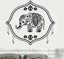 Vinyl Aufkleber Baby Elefant Kindergarten