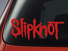 Vinyl-Aufkleber fürAuto, Fenster, Wand, Laptop, Slipknot Logo, Ro