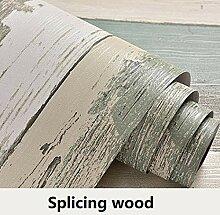 Vinyl Dekorfolie PVC-selbstklebende Tapete Holz