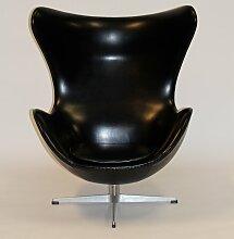 Vinyl Egg Stuhl von Arne Jacobsen für Fritz