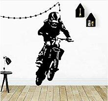 Vinyl Motorrad Tapete, Kinder dekorative Möbel