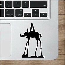 Vinyl Sticker Salvador Dali Dalis Elefant Skulptur