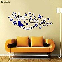 Vinyl Wandaufkleber Aufkleber Tapete Wohnzimmer