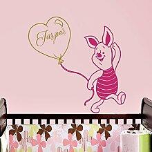 Vinyl Wandtattoo Winnie Puuh the Pooh Ballon
