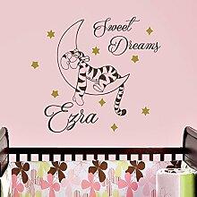 Vinyl Wandtattoo Zitat Sweet Dreams Winnie Puuh