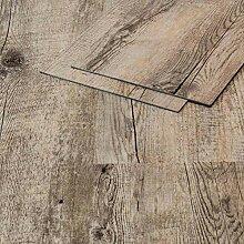 Vinylboden Klebevinyl Eiche 9910 grau Holzoptik