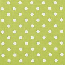 vinylla Polka Dot Lime Grün Vinyl Beschichtete