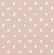 vinylla Polka Dot Pink Vinyl Beschichtete